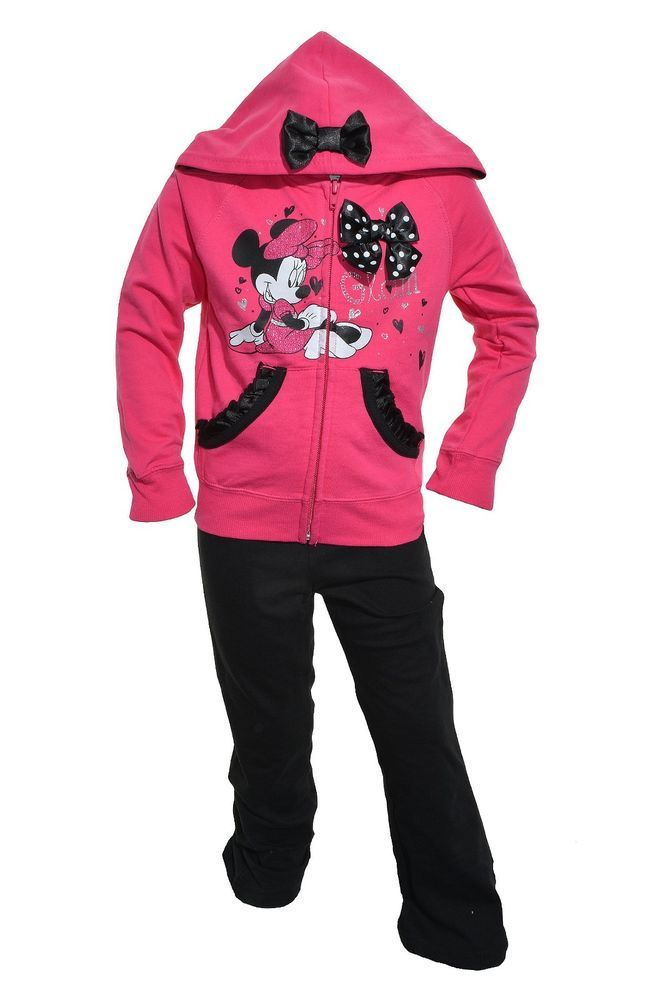 10589f2afeb1b Details about NEW DISNEY CHARACTER EMBROIDERED MINNIE MOUSE GIRLS 2 ...