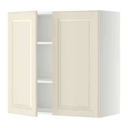 Best Metod Wall Cabinet With Shelves 2 Doors White Bodbyn Off 400 x 300