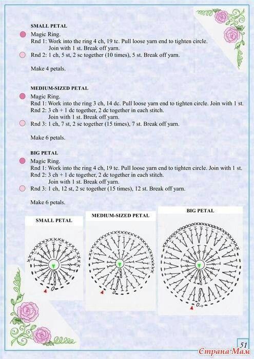 The Book Of Crochet Flowers 2_56   Crochet Flowers   Pinterest ...