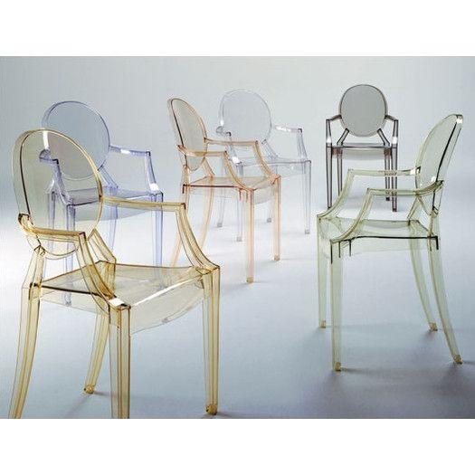 Louis Ghost Arm Chair & Reviews | AllModern