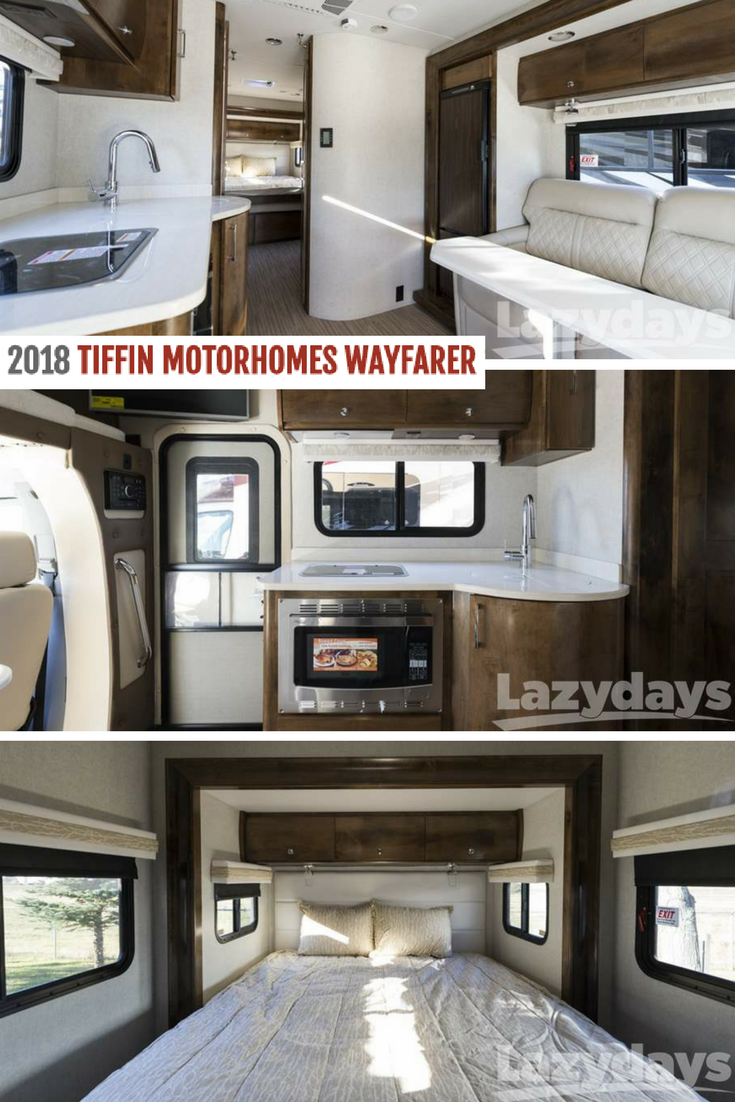 Have a look inside the 2018 #Tiffin #Wayfarer, available now