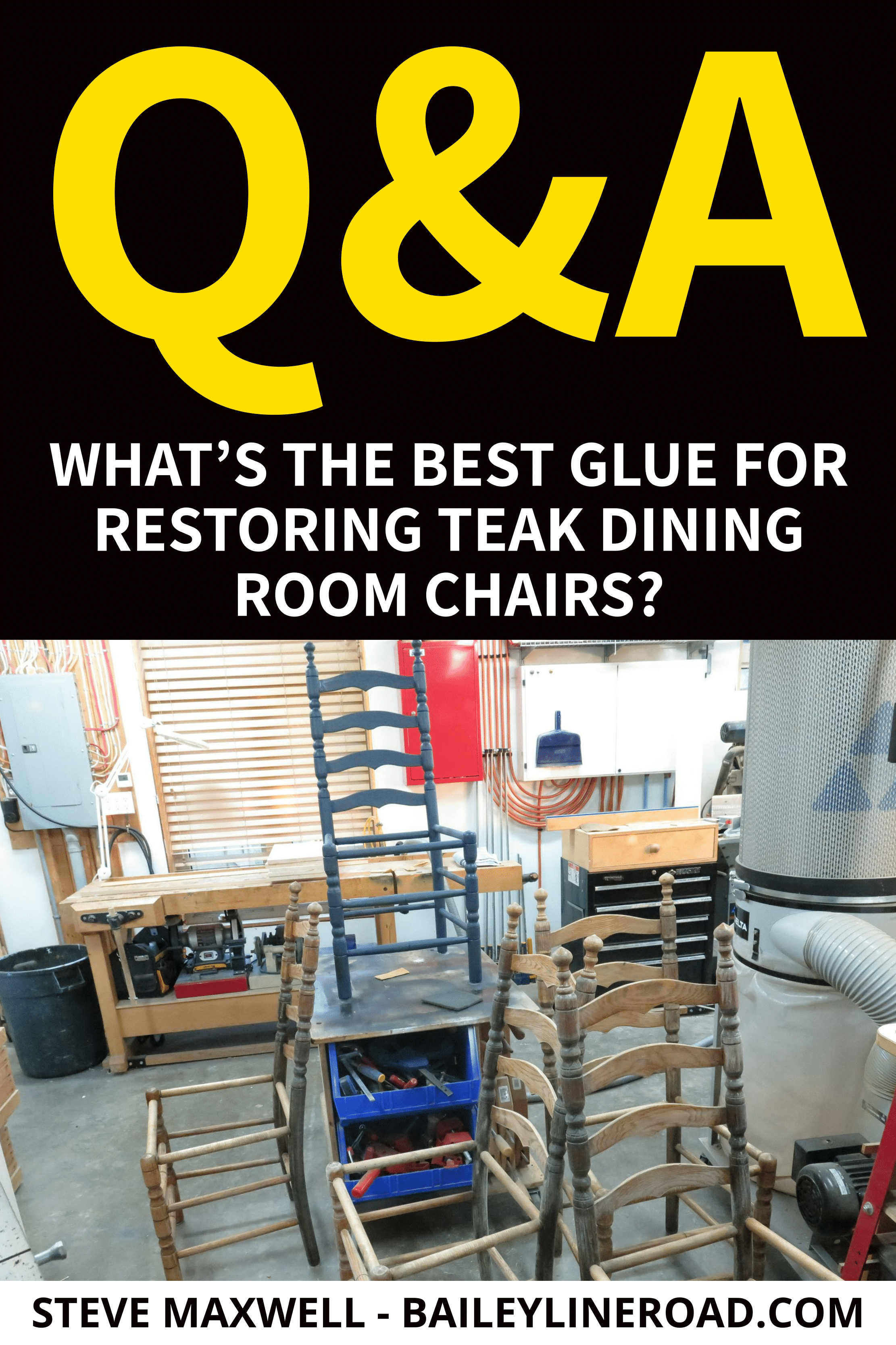 Fantastic Qa Of The Week Repairing Wooden Chairs Glues Epoxy Beutiful Home Inspiration Truamahrainfo