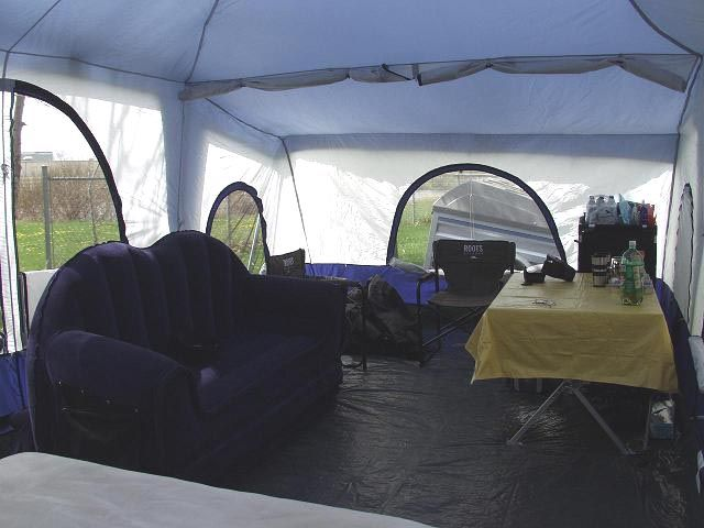 Our Deluxe 4 Room Quot Condo Quot Cabin Tent Includes Luxurious