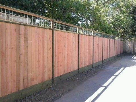 CUSTOM TOPS FOR SOLID FENCES « Arbor Fence Inc | a Diamond Certified Company