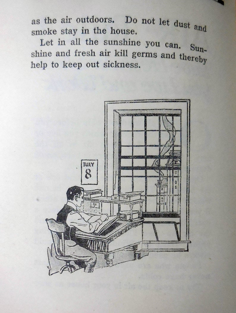 Vintage / Antique Health Booklet How To Live Etsy in