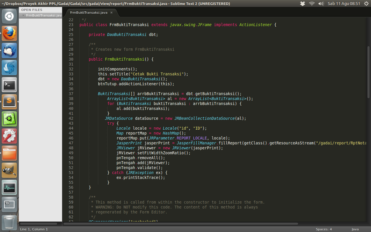 Sublime Text 2: A Sophisticated Code Editor for Linux