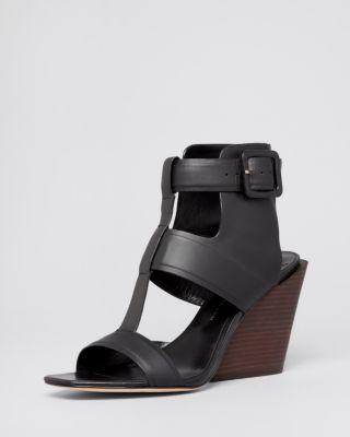 10 Crosby Derek Lam Open Toe Wedge Sandals Campbell Bloomingdale S Wedge Sandals Open Toe Wedges Wedges