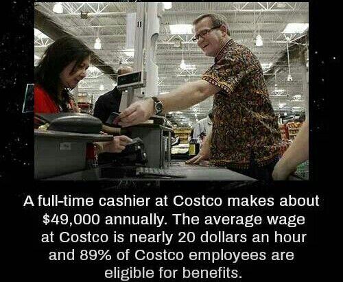 Cashier , Costco , facts