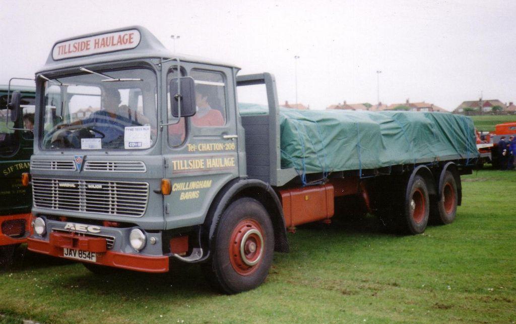 Aec Marshall Major Old Lorries