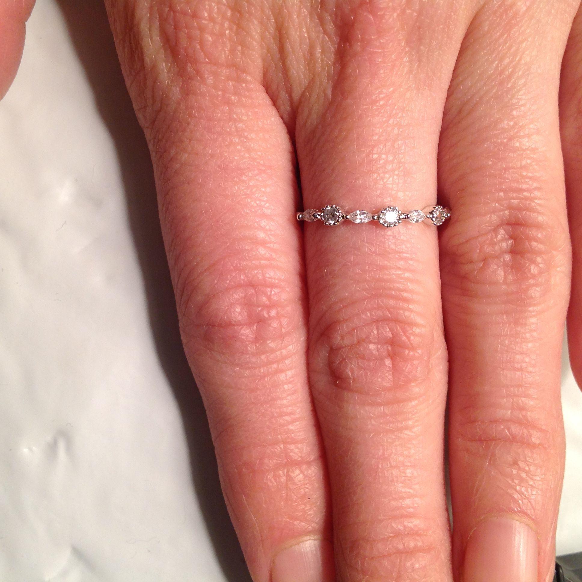 Dainty Bar Setting Ring #032   Rings   Pinterest   Lu lus, Ring and ...
