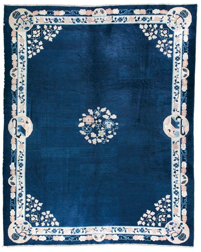 Cod. 7127 Pechino antico 351x288 tappeto cinese antique