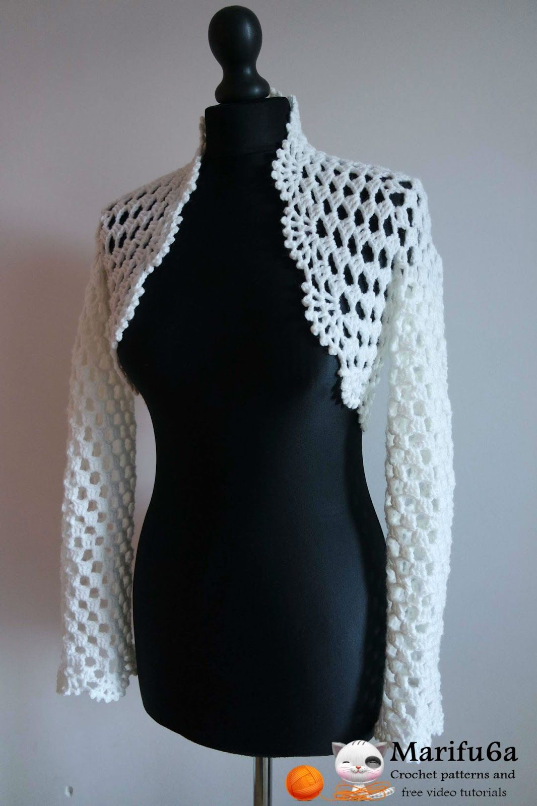 Crochet Bolero Pattern Best Ideas