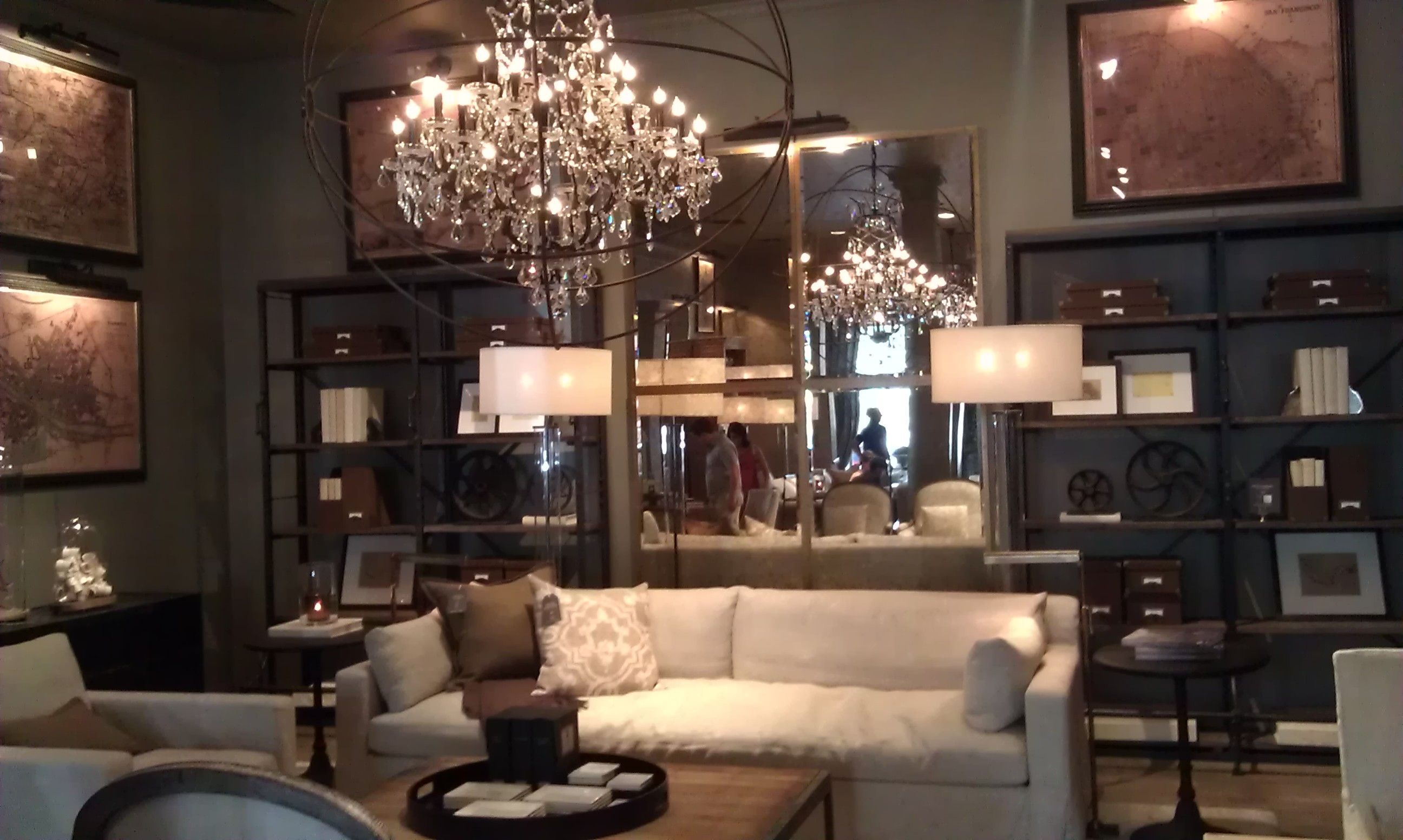 like the chandelier from restoration hardware comes without the – Like a Chandelier