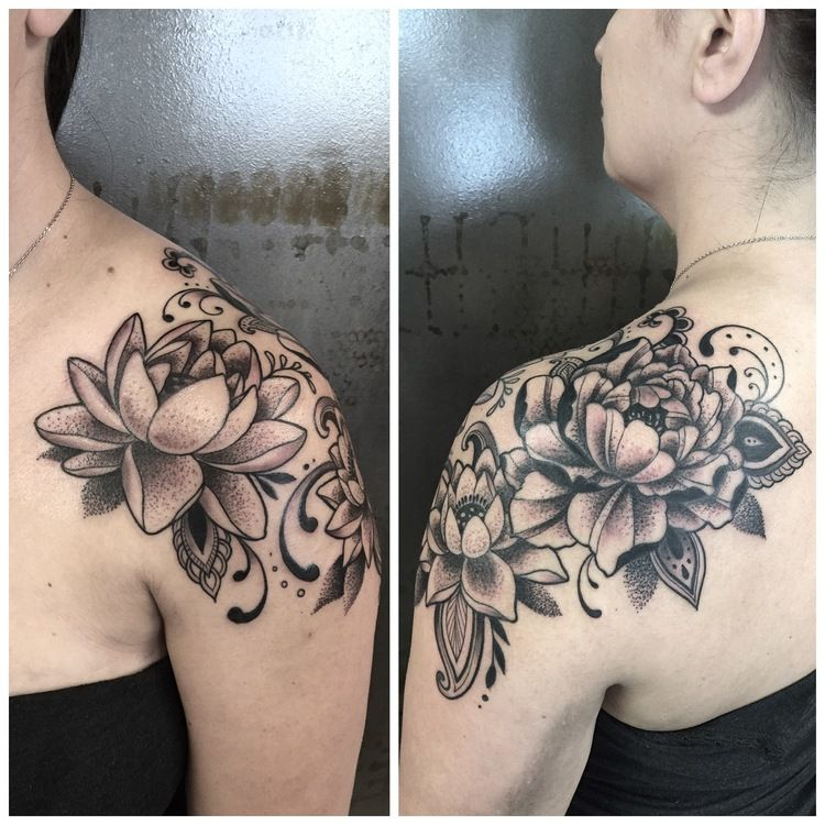 Love The Lotus Flower Water Lily Perfect Lily Tattoo Sleeve