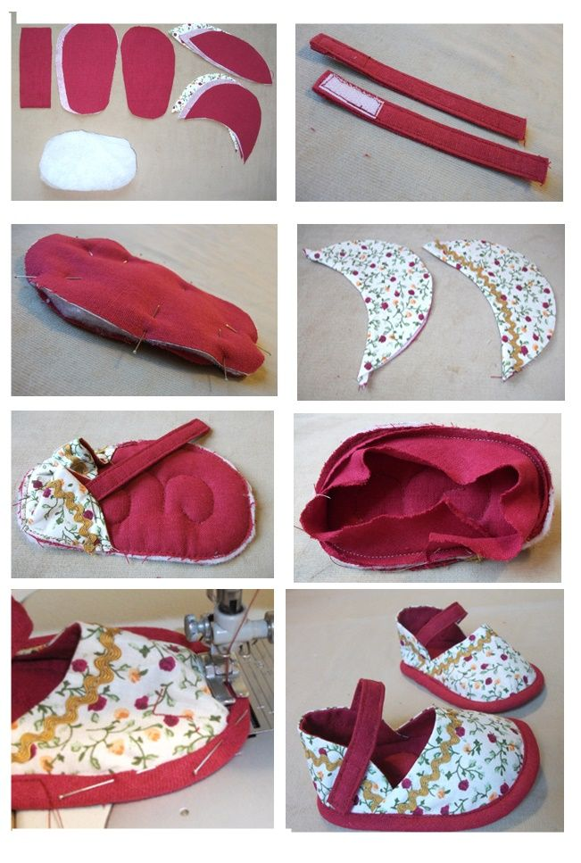 Photo of Gold Needle Atelier: FREE BABY SHOES TEMPLATE ….