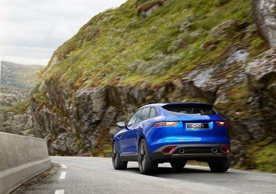 Jaguar C-X17 - Una proposición de estilo #jaguar #crossover #luxury