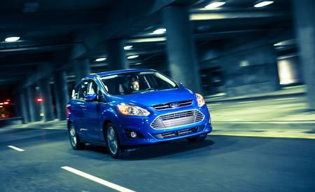 2013 Ford C Max Energi Plug In Hybrid Driven Car And Driver