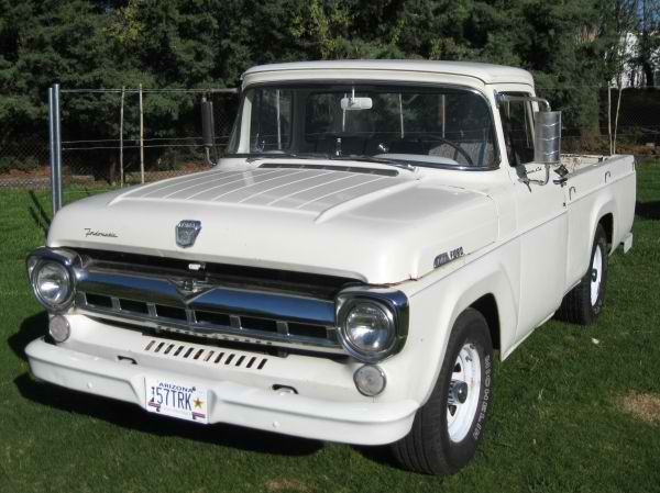 1957 Ford F150 With Images Classic Pickup Trucks Vintage Pickup Trucks Ford Trucks
