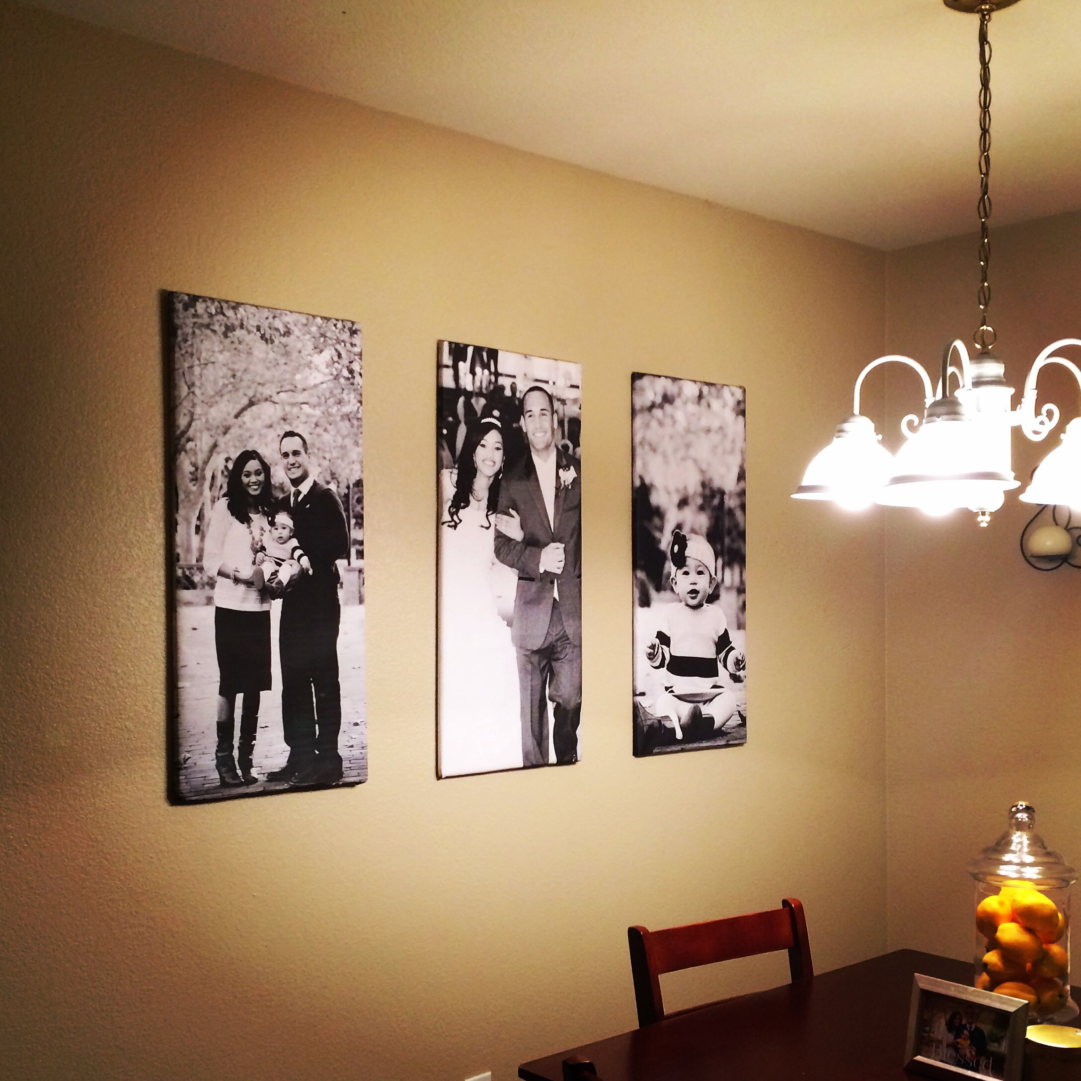 Easiest DIY large picture canvas: Less than $20 and made in 20 ...