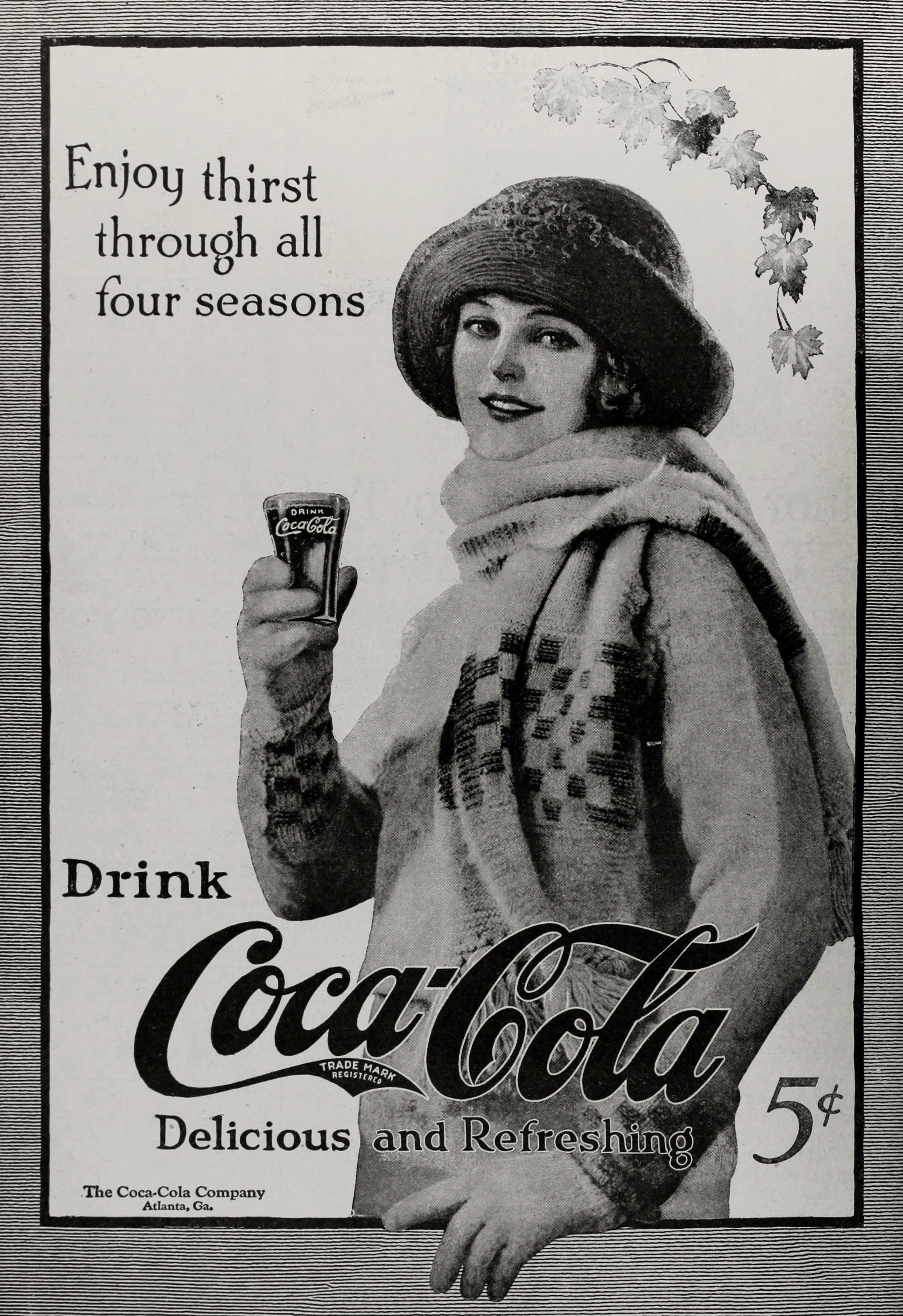 Beverage Coca Cola 1920 Coca Cola Ads Circa 1920 Advertisements