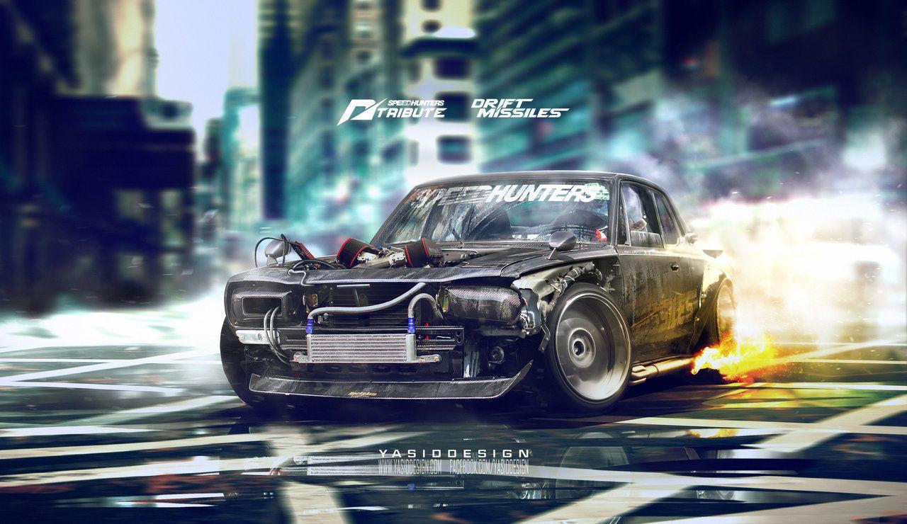 Speedhunters nissan skyline kgc10 2000 gt r _ nfs by yasiddesign on deviantart