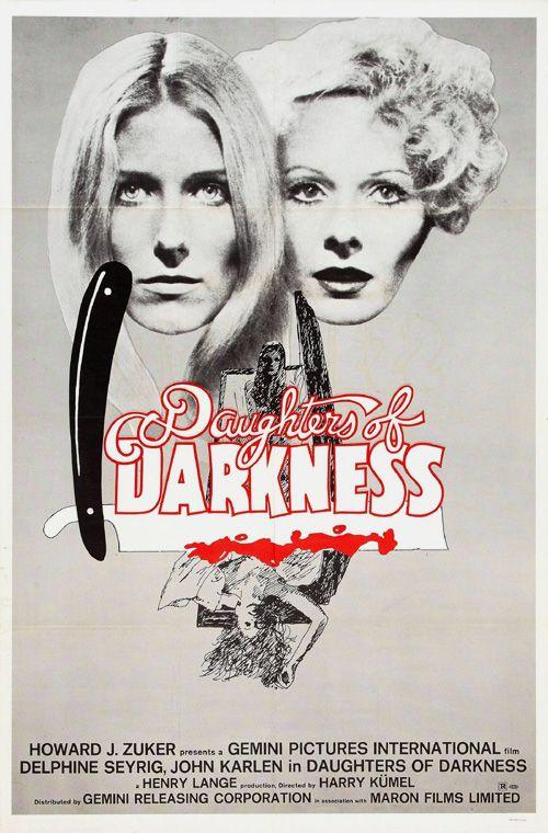 Lesbian Vampire Thriller From The 70s Horror Movies Horror