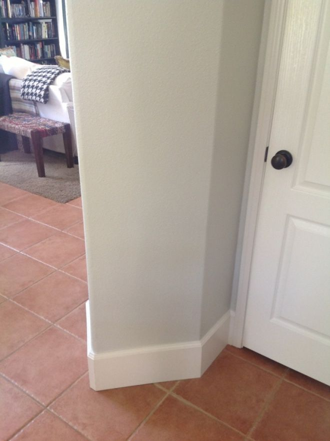 Updated Baseboards 7 1 4 Inch Thick Kitchen Ideas