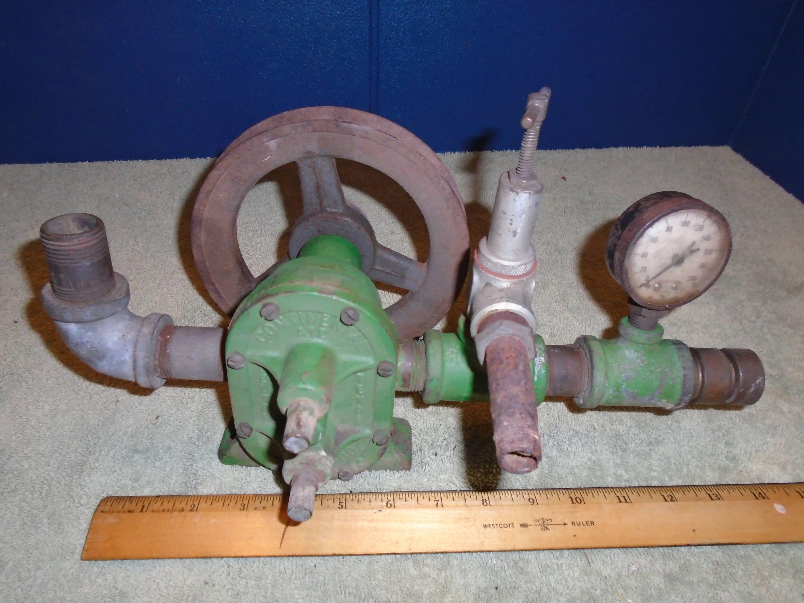 Continental Machinery. Steampunk parts. Industrial. Gauge