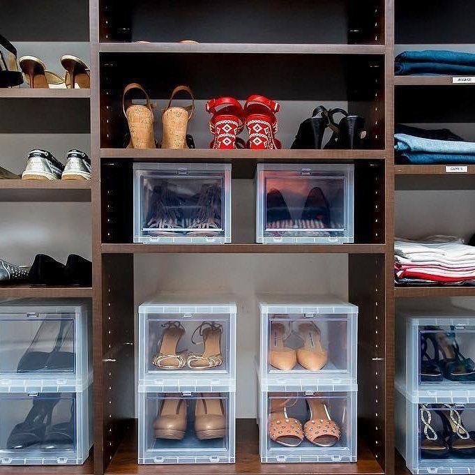 60 Ideen Und Tipps Wie Man Schuhe Organisiert Dekoration Closet