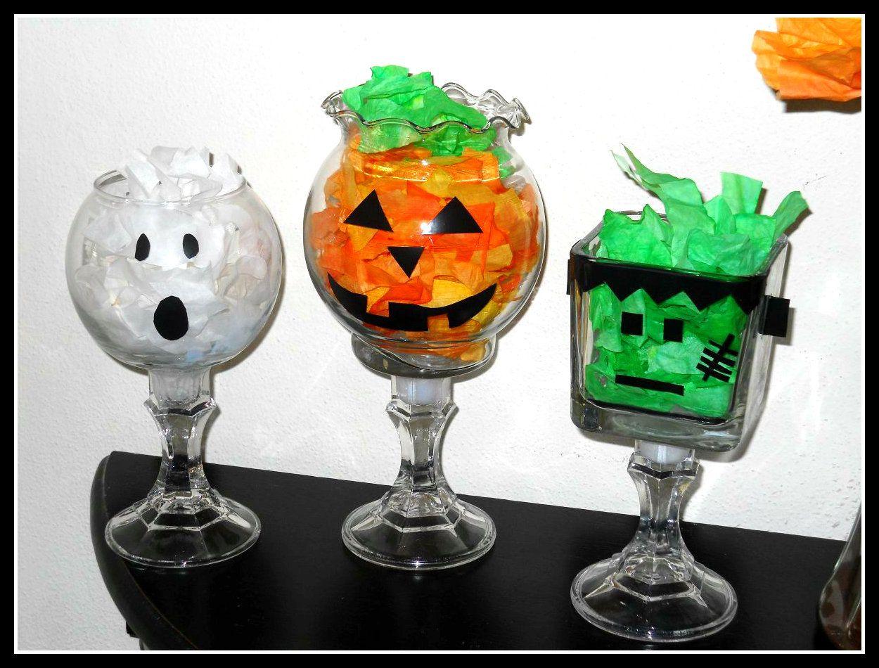 DIY Craft Halloween Decorative Bowls Pinterest Candy bowl, DIY - cute homemade halloween decorations