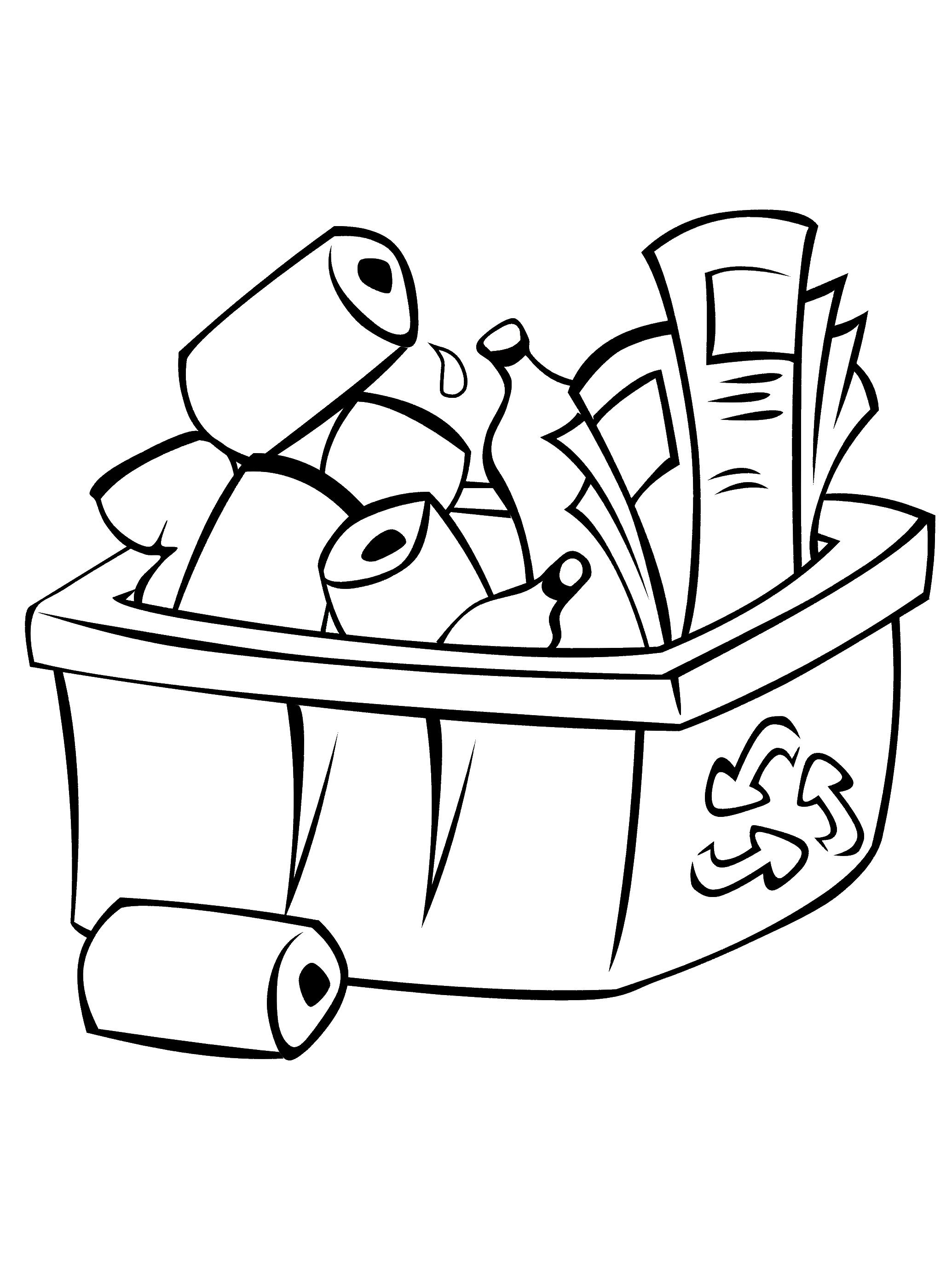 Beau Dessin à Colorier De Trash Pack