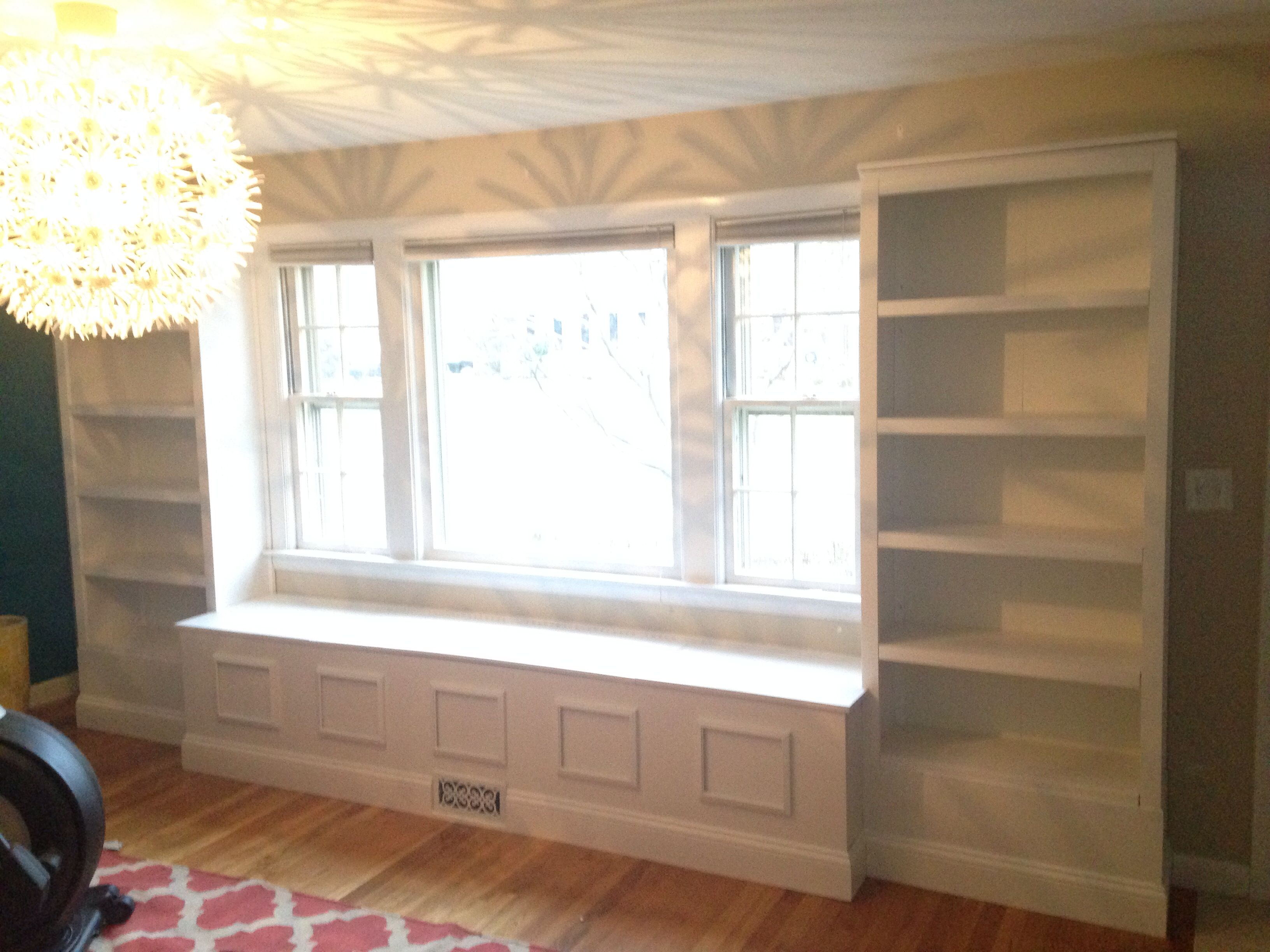 Semi Homemade Built In Window Seat With Storage Used Pre