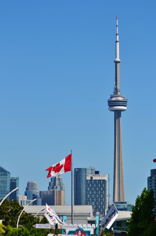 Cn Tower Canada City Toronto Travel Toronto Canada