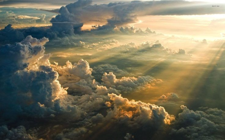 Sunset Above The Clouds 1920 1200 Nature Wallpaper Hd Wallpapers High Definition Amazing Cool Apple Mac Tablet Download Clouds Heaven Artwork Sunset Wallpaper
