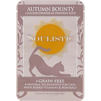 Soulistic packets Cat food, Cat food coupons, Grain free