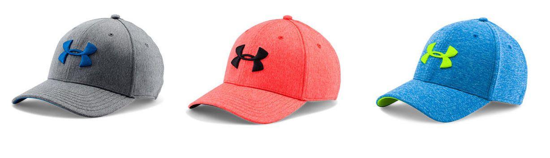 c6302f4e911 Under Armour Ua Men s Twist Tech Closer Cap Hat Blue Gray Red L Xl L Xl Nwt