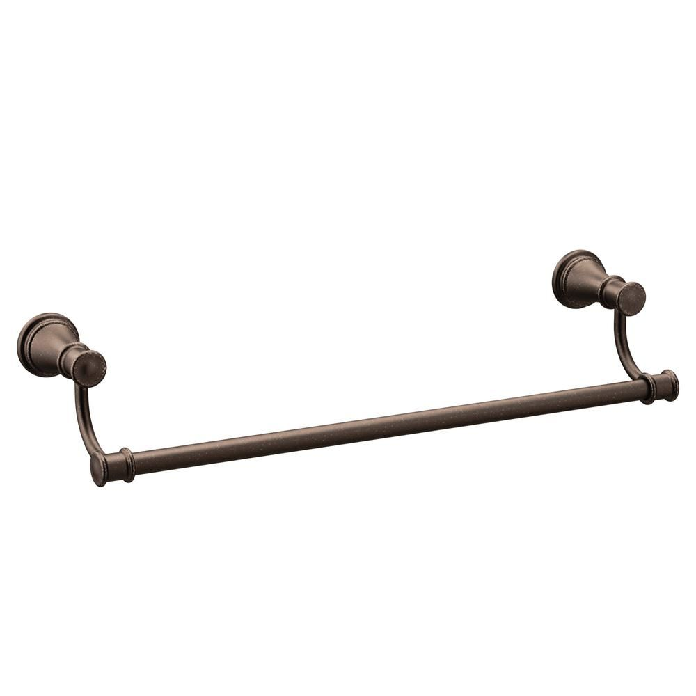 Moen Belfield 24 In Towel Bar In Oil Rubbed Bronze Oil Rubbed