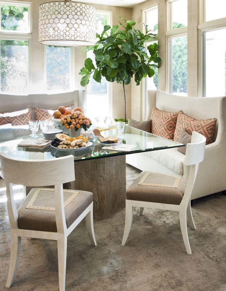 Dining Room Table With Sofa Seating Photo Of Goodly Sofa For Dining Table Photos Dining Nook Settee Dining Transitional Dining Room