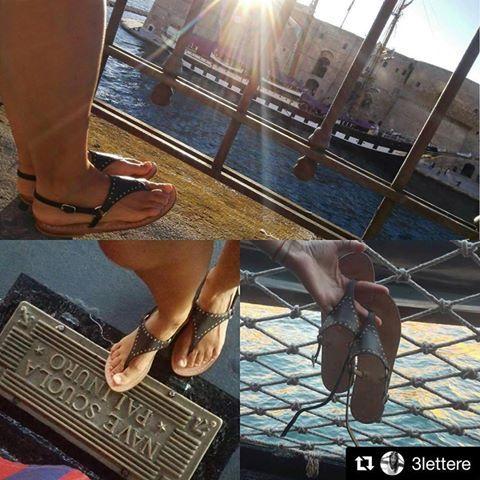Grazie a 3lettere  la dolce vita in Puglia  #puglia #sandals #sandali