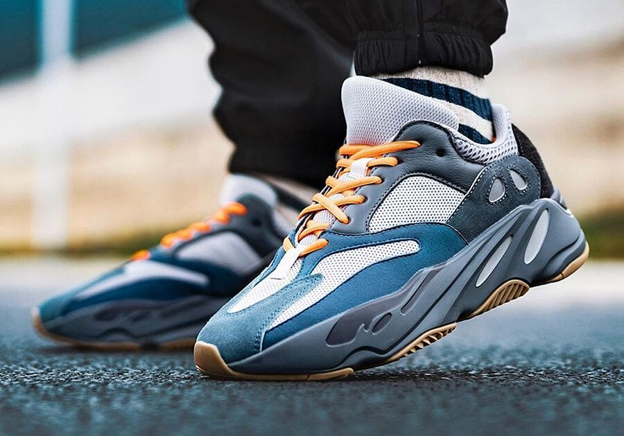 Adidas Yeezy Boost 700 Carbon Blue the best running outfits