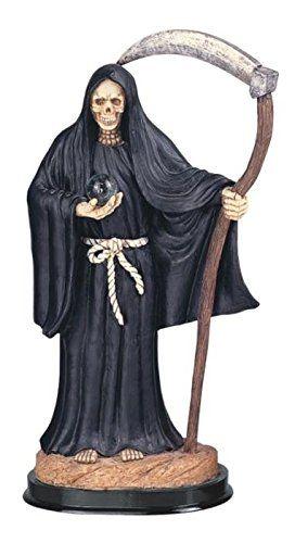 "XTI31658 16"" Santa Muerte Black"