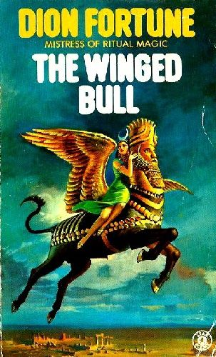 Uncredited Artist The Winged Bull By Dion Fortune 1976 The Winged