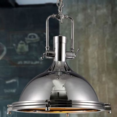 Nautical Style 1 Light 15 75 Wide Frosted Glass Indoor Lighting