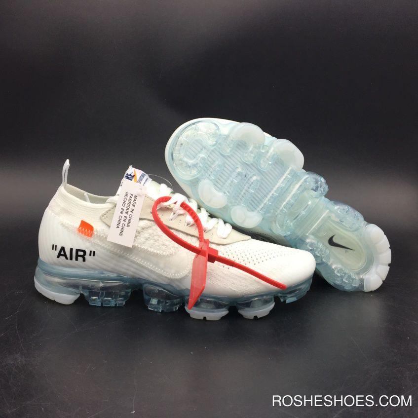 a374978bd4a5 New Year Deals Off-White X Nike Air Vapormax White Total Crimson-Clear  Aa3831-100