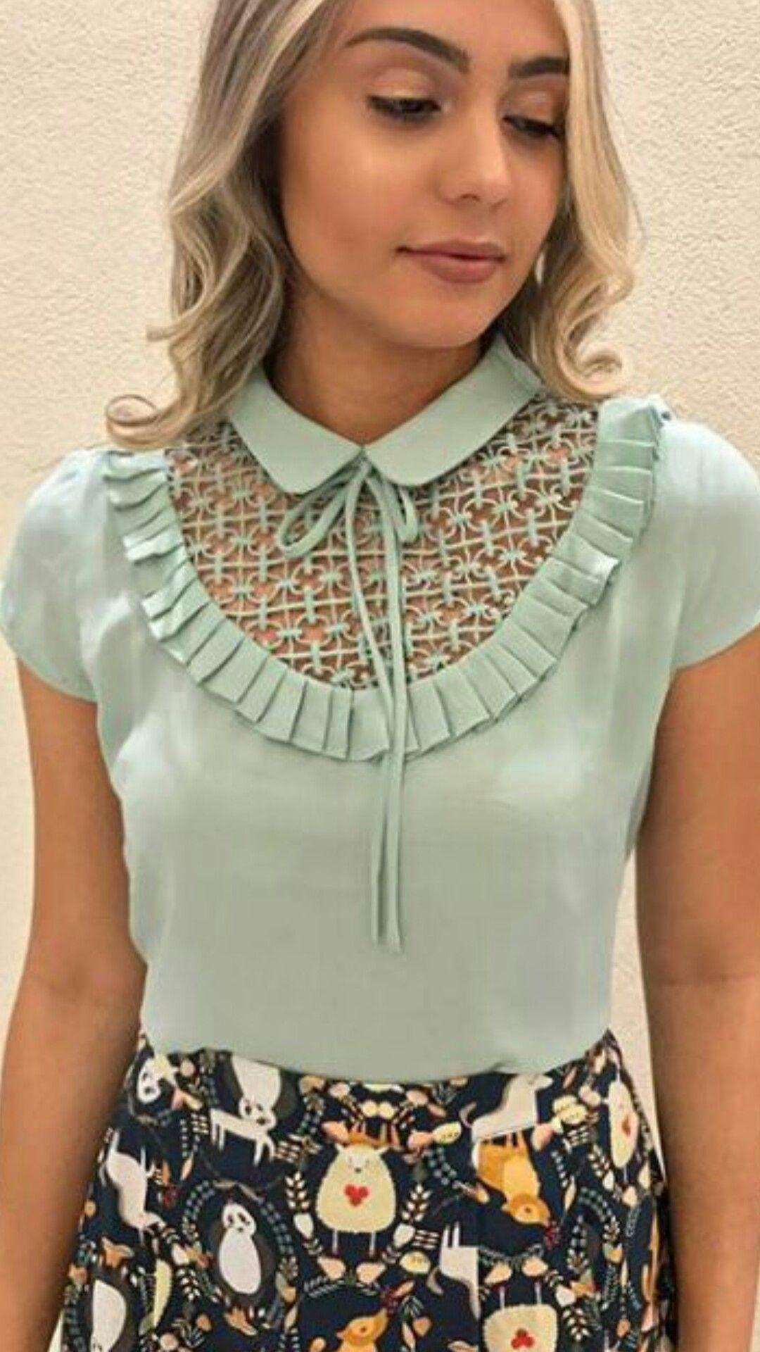 b7a22051c8 Pin by Marta Alvarado on blusas in 2019
