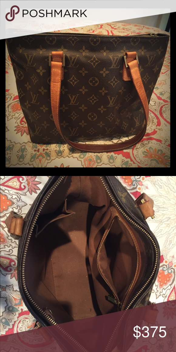 42989fab87 Spotted while shopping on Poshmark: Authentic Louis Vuitton Cabas Piano bag!  #poshmark #fashion #shopping #style #Louis Vuitton #Handbags
