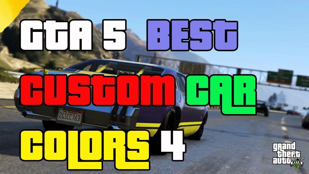 gta 5 online best car colors