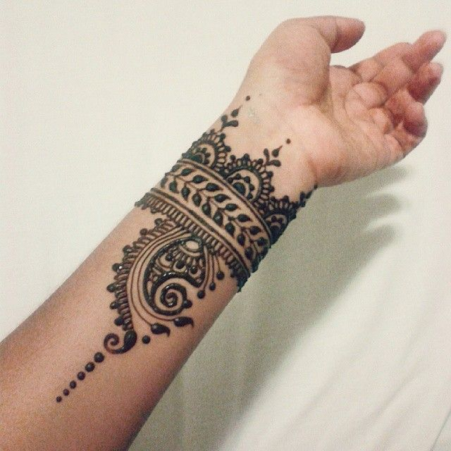 Henna Mehndi Sleeve : Mehndi by nindya henna studio
