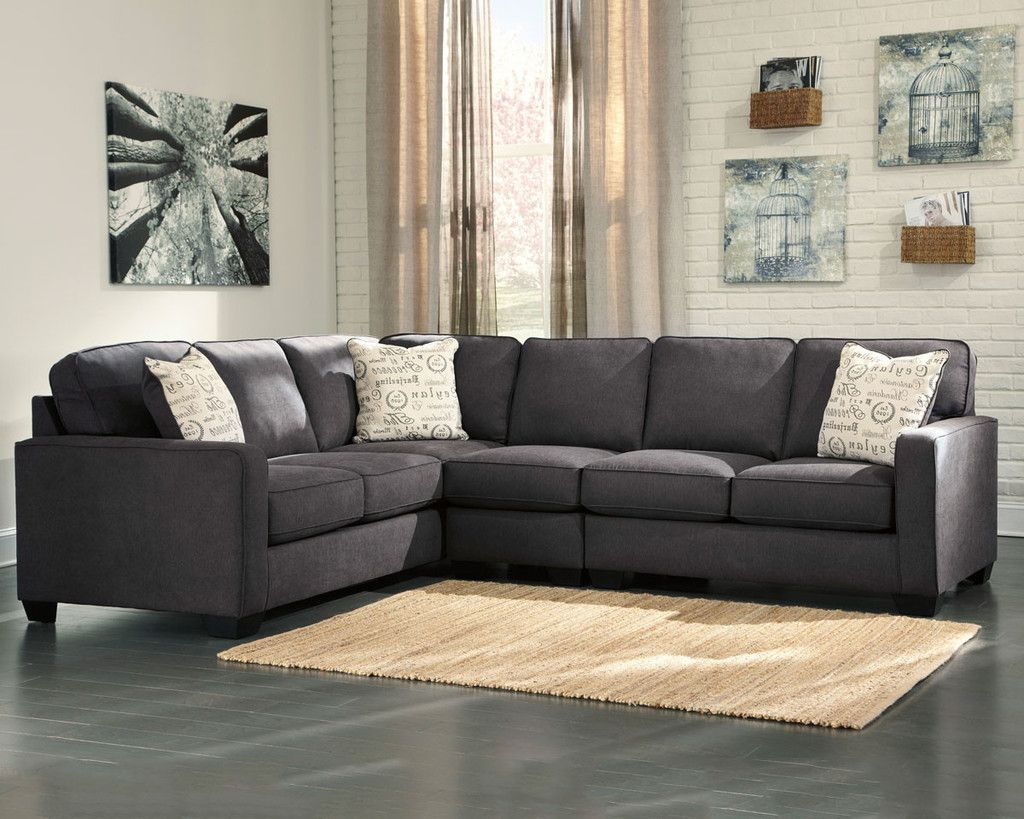 Alenya Sectional Living Room Red Ashley Furniture Sofas