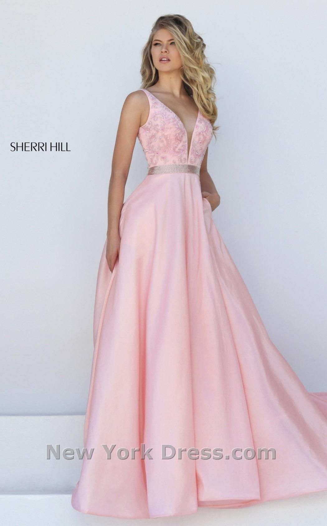 Sherri Hill 50233 | Ball gowns, Illusions and Bodice